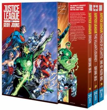 Justice League by Geoff Johns Box Set Vol. 1 - Book  of the Justice League 2011