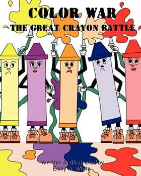 Paperback Color War: The Great Crayon Battle Book