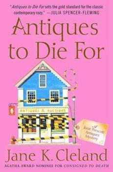 Antiques to Die For 0312368275 Book Cover