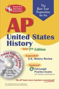 AP United States History w/ Testware: 7th Edition (Test Preps) 0738602191 Book Cover