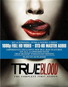 Blu-ray True Blood: The Complete First Season Book