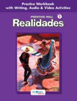 Realidades Level 1: Guided Practice Activities for Vocabulary And Grammar 0130360074 Book Cover