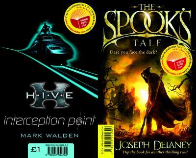 The Spook's Tale / Interception Point (World Book Day) 0955944600 Book Cover
