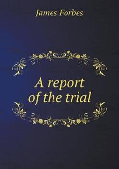 Paperback A Report of the Trial Book