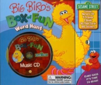Hardcover Big Bird's Box of Fun Word Hunt (Sesame Street) Book
