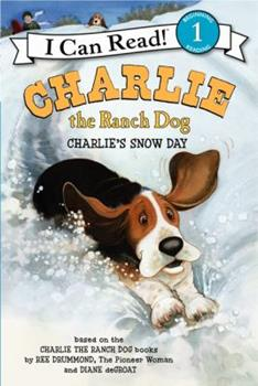 Paperback Charlie the Ranch Dog: Charlie's Snow Day Book