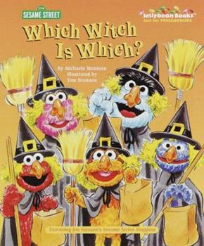 Which Witch Is Which? (Big Bird's Favorites Brd Bks) - Book  of the Little Golden Books