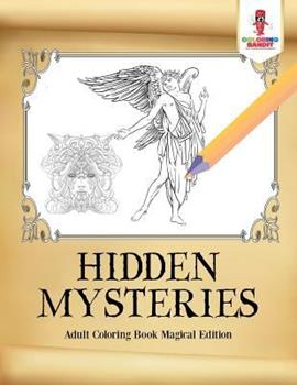 Paperback Hidden Mysteries: Adult Coloring Book Magical Edition Book