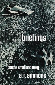 Briefings and Poems: Small and Easy 0393043320 Book Cover
