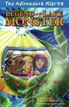 Paperback The Adirondack Kids #9: Legend of the Lake Monster Book