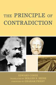 The Principle of Contradiction 0739127128 Book Cover