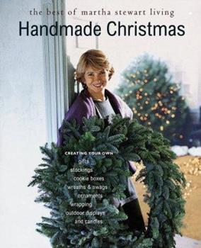 Paperback Handmade Christmas : The Best of Martha Stewart Living Book