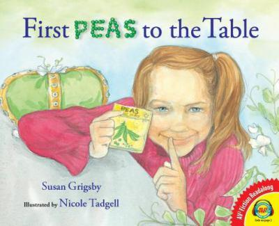 Hardcover First Peas to the Table Book