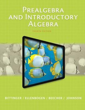 Paperback Prealgebra and Introductory Algebra Plus New Mylab Math with Pearson Etext [With Access Code] Book