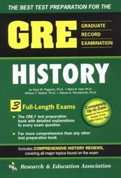 Gre in History (REA Test Preps) 087891885X Book Cover