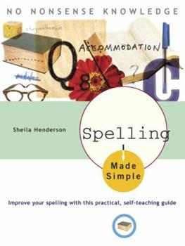 Spelling Made Simple - Book  of the Made Simple