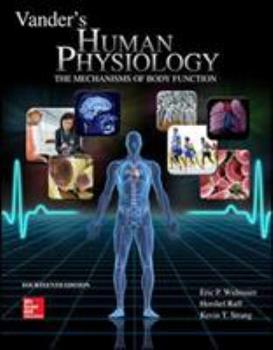 Vander's Human Physiology (Human Physiology (Vander)) 0077216091 Book Cover