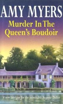 Hardcover Murder in the Queen's Boudoir [Large Print] Book