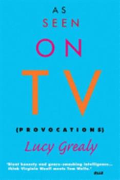 As Seen on TV: Provocations 1582341532 Book Cover