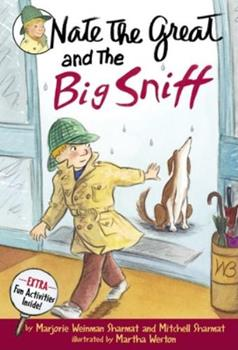 Nate the Great and the Big Sniff 0385326041 Book Cover