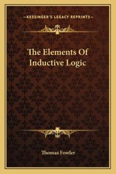 Paperback The Elements of Inductive Logic Book