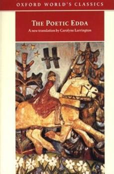 Paperback The Poetic Edda (Oxford World's Classics) Book