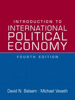Paperback Introduction to International Political Economy Book