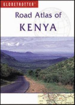 Paperback Globetrotter Road Atlas: Kenya Book