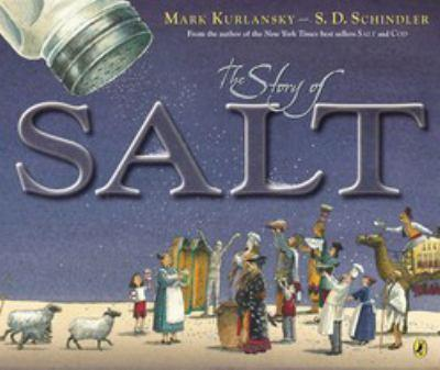 The Story of Salt 0399239987 Book Cover