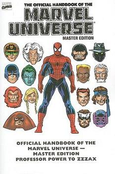 Essential Official Handbook Of The Marvel Universe - Master Edition Volume 3 TPB (Essential) - Book  of the Essential Marvel