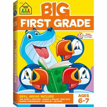 First Grade Big Get Ready! (Ages 6-7) - Book  of the BIG Workbooks