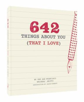 642 Things About You (That I Love) 1452158398 Book Cover