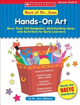 Best of Dr. Jean: Hands-On Art: Hands-On Art 0439597242 Book Cover