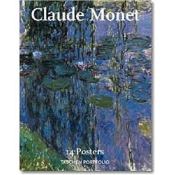 Claude Monet (Portfolio) 1566197392 Book Cover