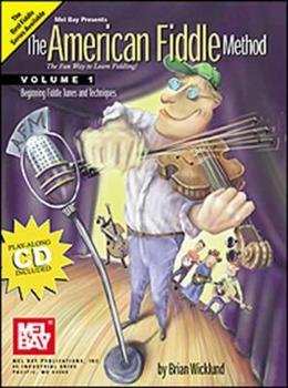 Paperback Mel Bay American Fiddle Method, Vol. 1 (Book & CD) Book