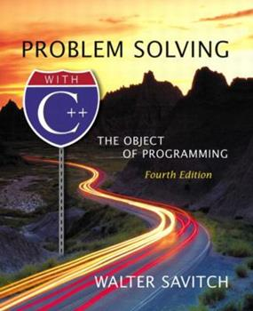 Paperback Problem Solving with C++ : The Object of Programming Book