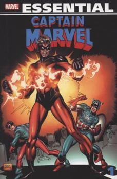 Essential Captain Marvel, Vol. 1 - Book  of the Essential Marvel