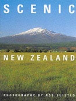 Hardcover Scenic New Zealand Book