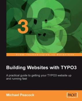 Paperback Building Websites with Typo3 Book
