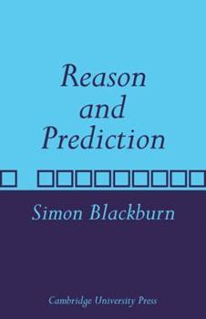 Reason and Prediction 0521108225 Book Cover