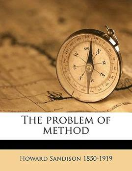 Paperback The Problem of Method Book