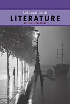 McDougal Littel Literature- British Literature: Grade 12 0618568670 Book Cover