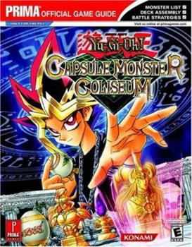 Paperback Yu-Gi-Oh! Capsule Monster Coliseum (Prima's Official Strategy Guide) Book