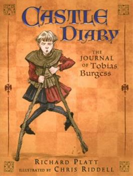 Paperback Castle Diary : The Journal of Tobias Burgess Book