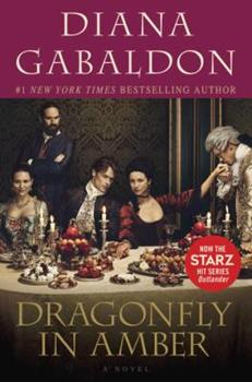 Paperback Dragonfly in Amber (Starz Tie-In Edition) Book