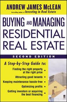 Buying And Managing Residential Real Estate 0809244128 Book Cover