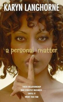 A Personal Matter 0060747730 Book Cover