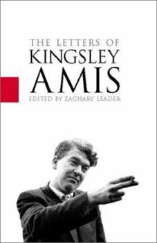 The Letters of Kingsley Amis 0002570955 Book Cover