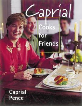 Hardcover Caprial Cooks for Friends Book