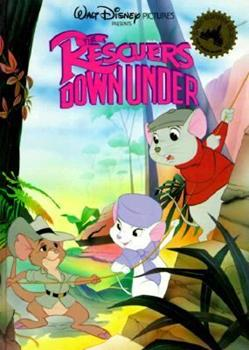 The Rescuers Down Under - Book  of the Disney's Wonderful World of Reading